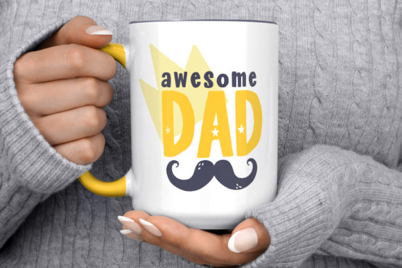 Print on Demand: Fathers Day Cut Files Pack Graphic Crafts By Latin Vibes