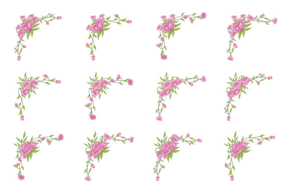 Download Free Floral Classic Vector Ornaments Vintage Graphic By Anomali Bisu for Cricut Explore, Silhouette and other cutting machines.