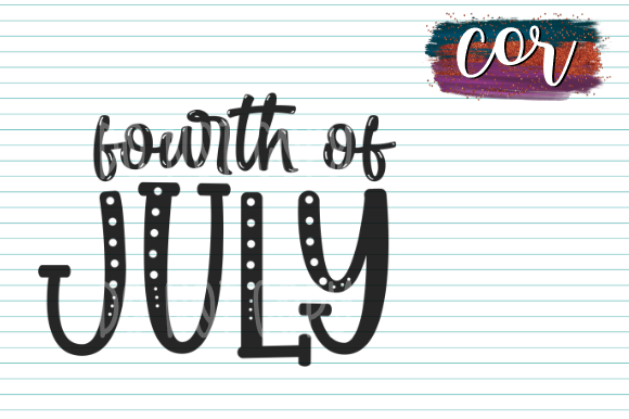 Print on Demand: Fourth of July Graphic Crafts By designscor
