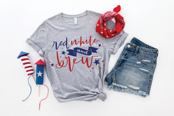 Download Free Fourth Of July Graphic By Browncowcreatives Creative Fabrica for Cricut Explore, Silhouette and other cutting machines.