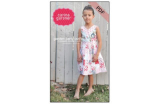 Garden Party Outfit Sewing Pattern Graphic Sewing Patterns By carina2