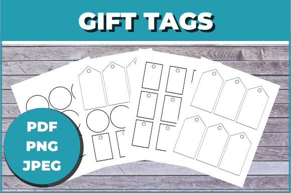 Download Free Gifts Tags For Your Presents And Gifts Graphic By Ascendprints for Cricut Explore, Silhouette and other cutting machines.