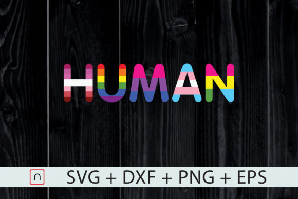 Download Free 1 Human Flag Lgbt Svg Designs Graphics for Cricut Explore, Silhouette and other cutting machines.