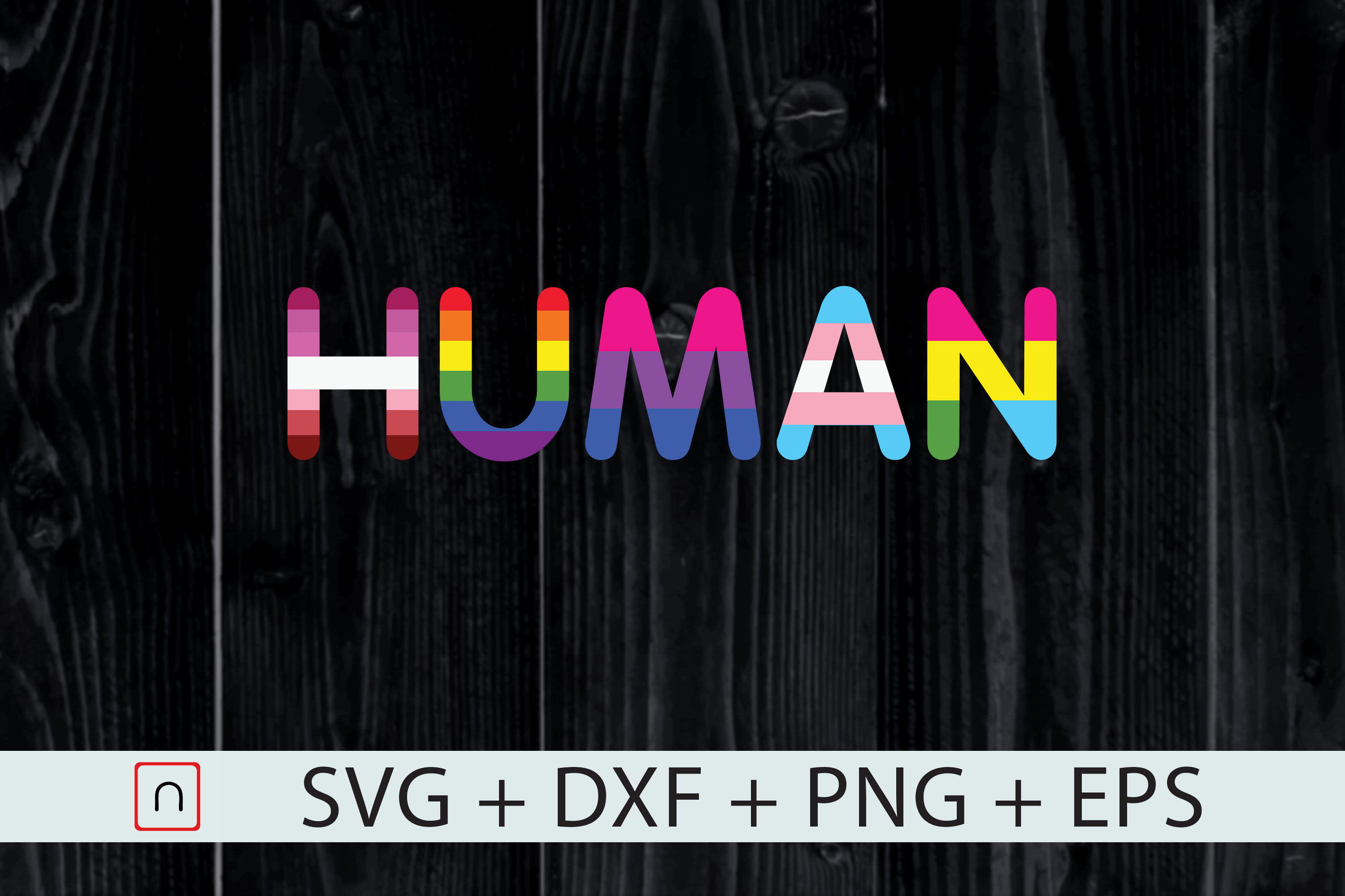 Download Free Human Flag Lgbt Gay Pride Month Graphic By Novalia Creative for Cricut Explore, Silhouette and other cutting machines.