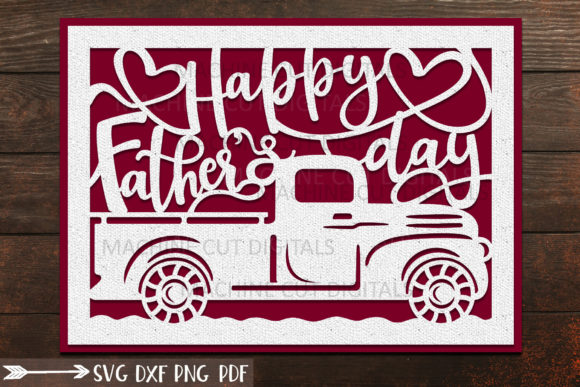 Download Free Happy Father S Day Card Graphic By Cornelia Creative Fabrica for Cricut Explore, Silhouette and other cutting machines.
