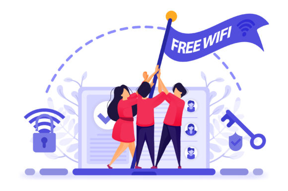 Download Free Illustration Of Get Free Internet Graphic By Setiawanarief111 SVG Cut Files