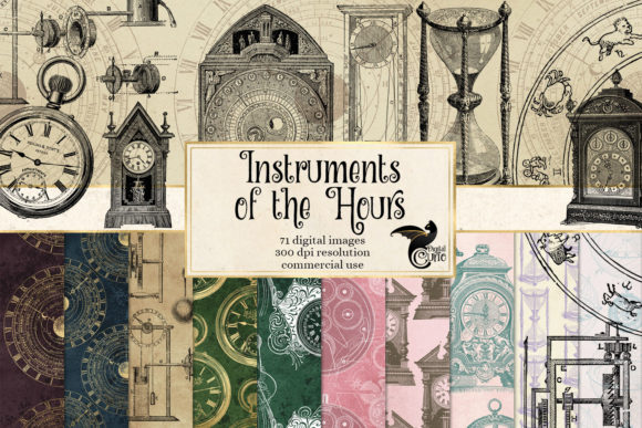 Print on Demand: Instruments of the Hours Graphic Illustrations By Digital Curio