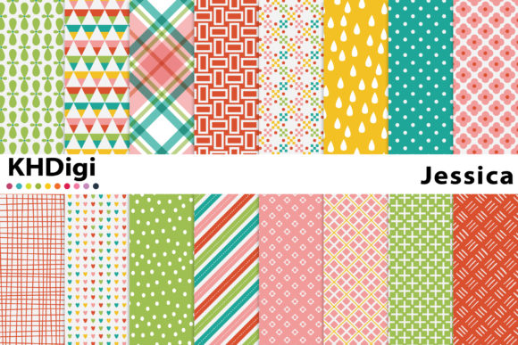 Download Free Waterline Digital Paper Graphic By Khdigi Creative Fabrica for Cricut Explore, Silhouette and other cutting machines.