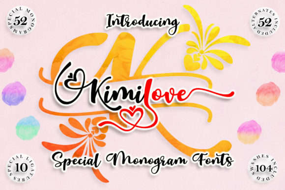 Print on Demand: Kimilove Script & Handwritten Font By aldedesign