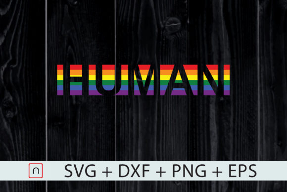 Download Free Lgbtq Gay Pride Rainbow Flag Human Graphic By Novalia for Cricut Explore, Silhouette and other cutting machines.