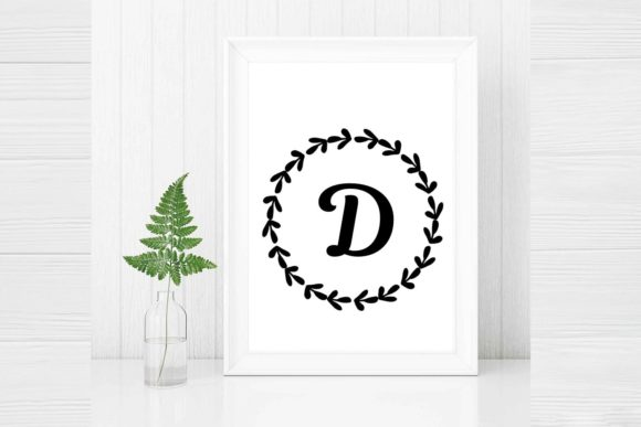 Laurel Wreath Hand Drawn Clipart Graphic By Magic World Of