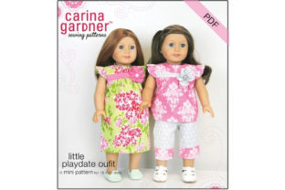 Little Playdate Outfit Sewing Pattern Graphic Sewing Patterns By carina2