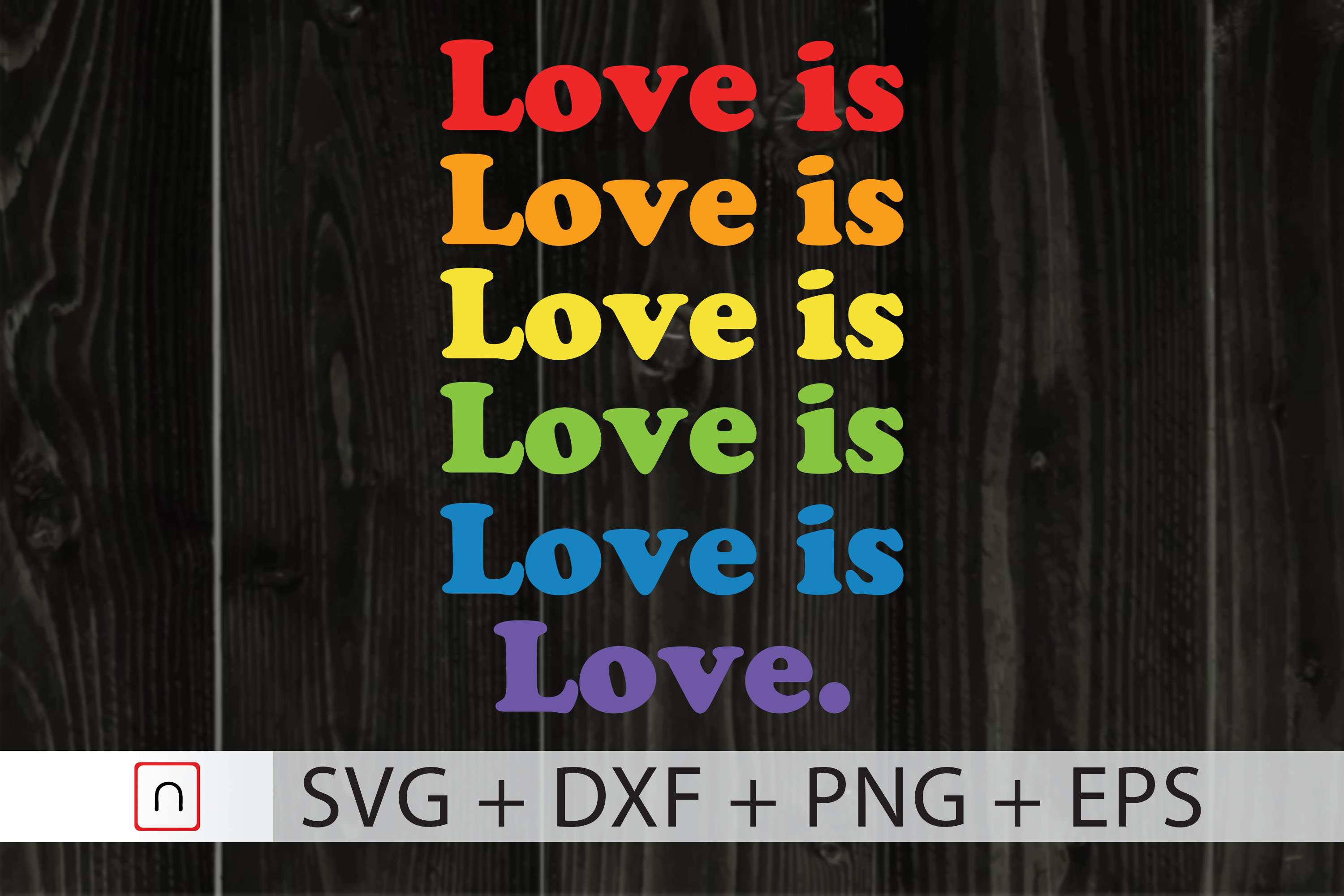 Love Is Love Lgbtq Pride Month 2020 Graphic By Novalia