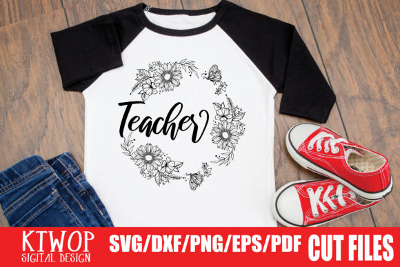 Download Free Teacher Graphic By Ktwop Creative Fabrica for Cricut Explore, Silhouette and other cutting machines.