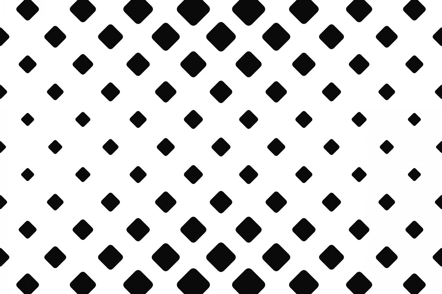 Download Free Monochrome Geometrical Square Pattern Graphic By Davidzydd for Cricut Explore, Silhouette and other cutting machines.