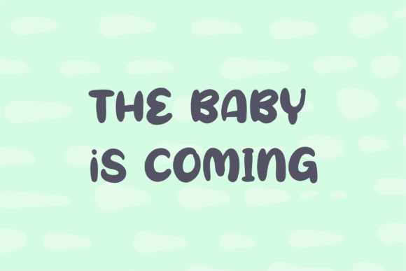 Oh My Baby Font Item