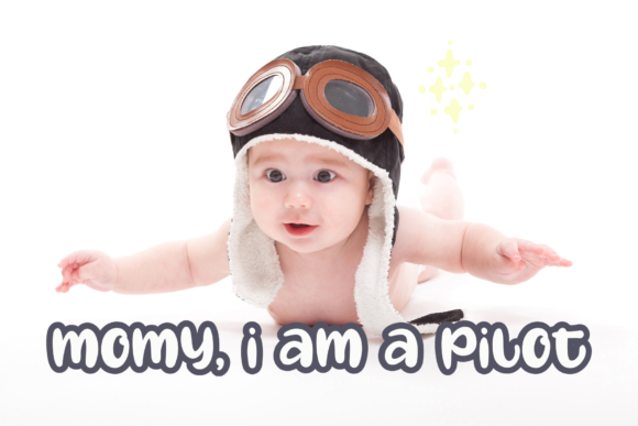 Oh My Baby Font Image