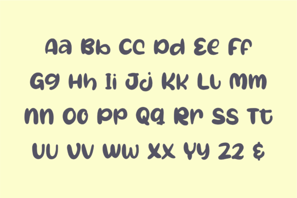 Oh My Baby Font Design Item