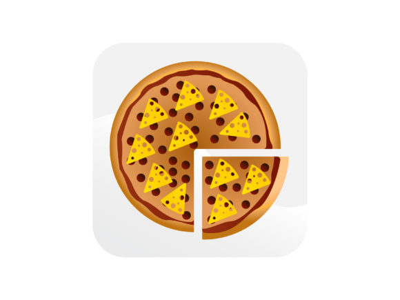 Download Free Pizza Cheese Icon Graphic By Samagata Creative Fabrica for Cricut Explore, Silhouette and other cutting machines.