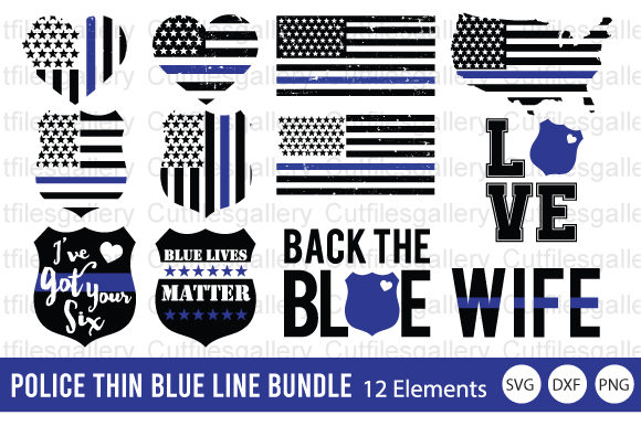 Download Free 6 Police Svg Designs Graphics for Cricut Explore, Silhouette and other cutting machines.