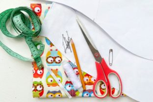Scrub Cap Sewing Pattern Style#1 Graphic Sewing Patterns By Cotton Miracle Studio