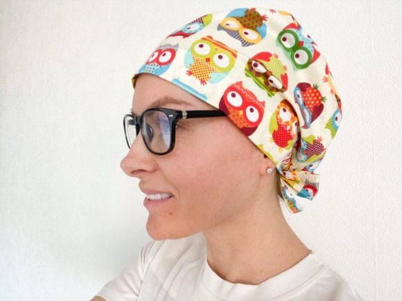 Scrub Cap Sewing Pattern Style#1 Graphic Sewing Patterns By Cotton Miracle Studio - Image 3