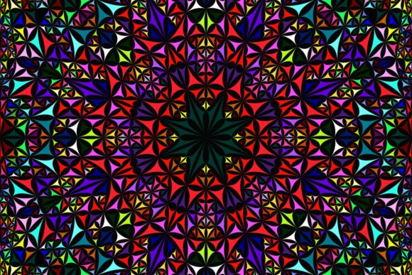 Seamless Mandala Pattern Graphic Patterns By davidzydd