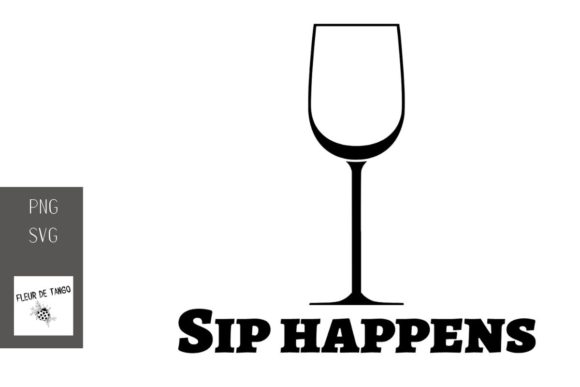 Print on Demand: Sip Happens 2 Graphic Illustrations By Fleur de Tango