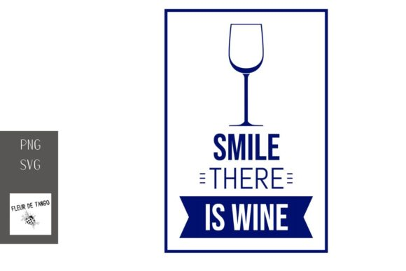 Print on Demand: Smile There is Wine 10 Graphic Illustrations By Fleur de Tango