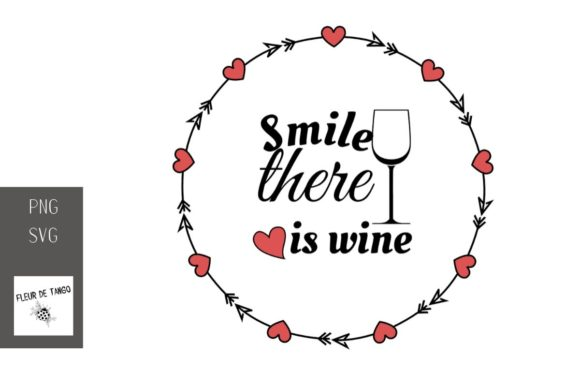 Print on Demand: Smile There is Wine 11 Graphic Illustrations By Fleur de Tango