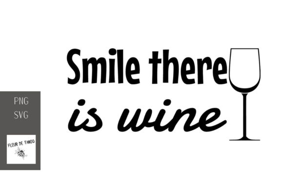 Print on Demand: Smile There is Wine 13 Graphic Illustrations By Fleur de Tango