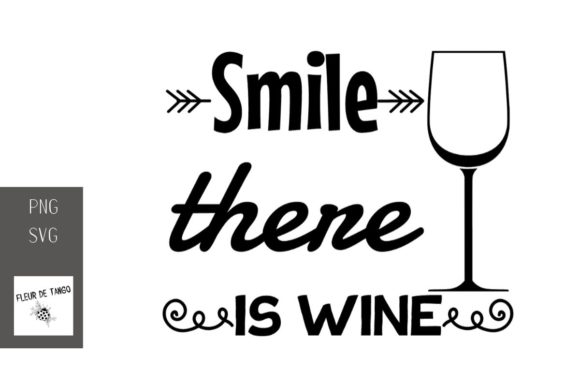 Print on Demand: Smile There is Wine 14 Graphic Illustrations By Fleur de Tango
