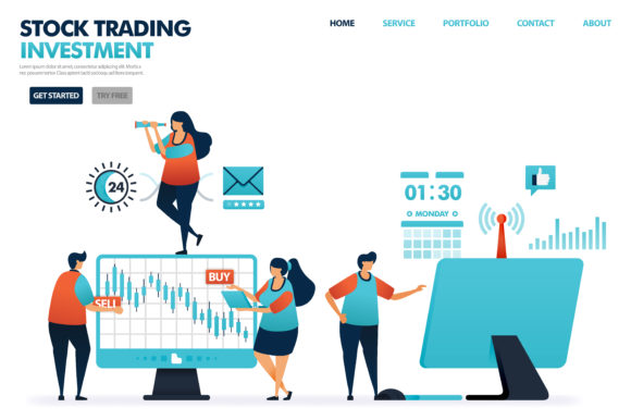 Download Free Stock Trading Is Investment Products Graphic By Setiawanarief111 SVG Cut Files