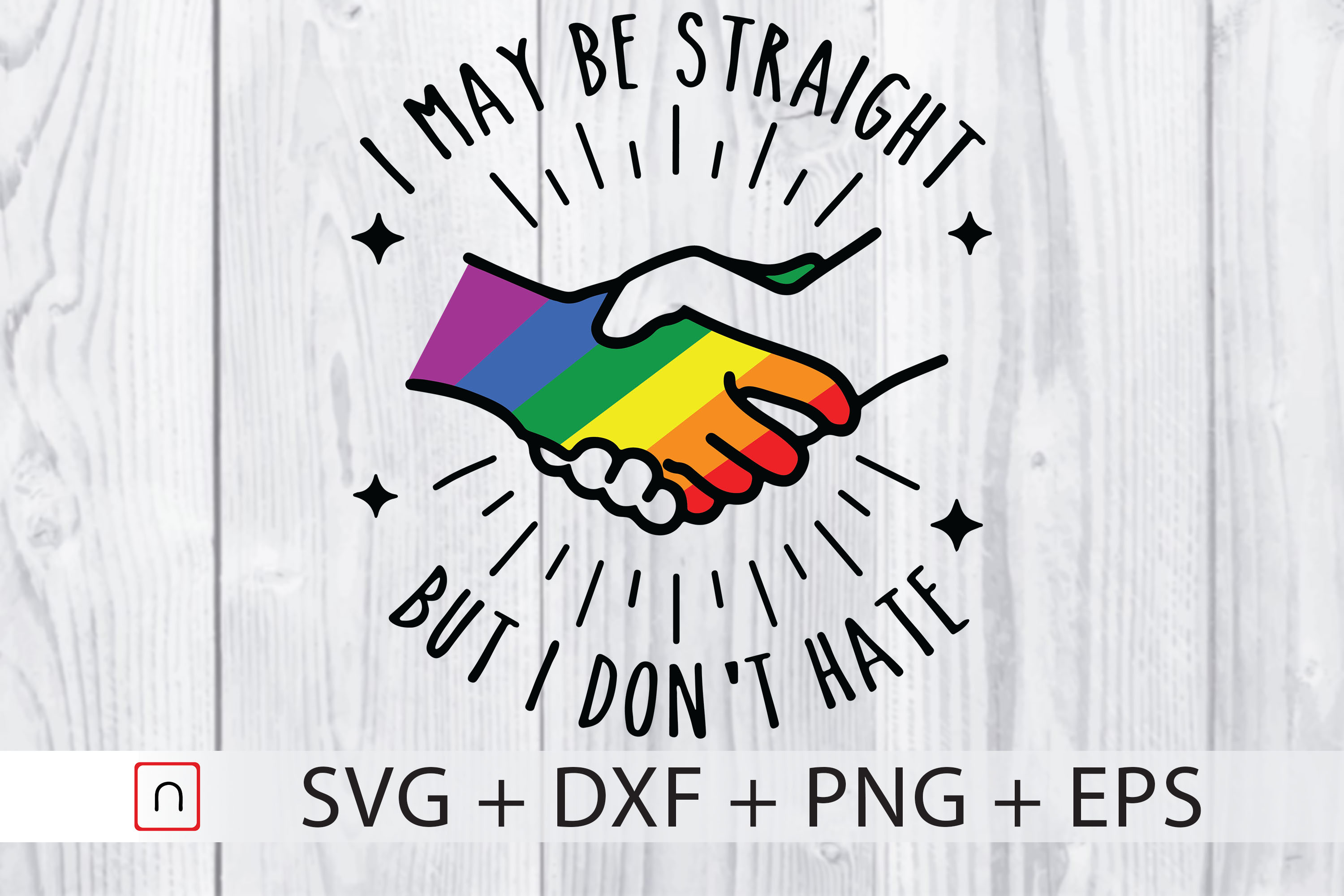 Straight Don T Hate Lgbtq Pride Graphic By Novalia Creative