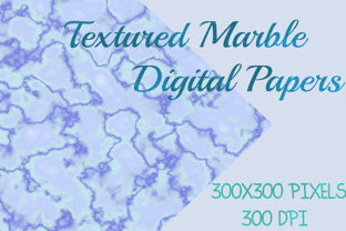 Textured Marble Digital Papers Graphic Backgrounds By Subi Designs