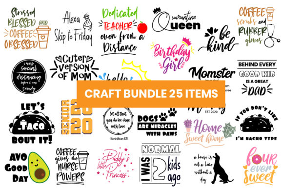 Print on Demand: The Crafts Bundle  By Maumo Designs