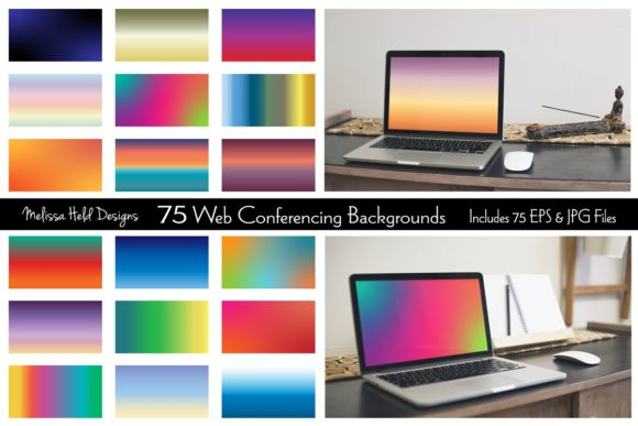 Web Conferencing Backgrounds Graphic Backgrounds By Melissa Held Designs