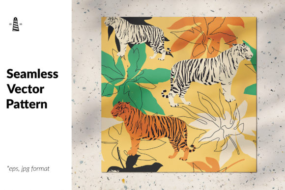 Download Free Wild Animal Seamless Pattern Graphic By Northseastudio for Cricut Explore, Silhouette and other cutting machines.
