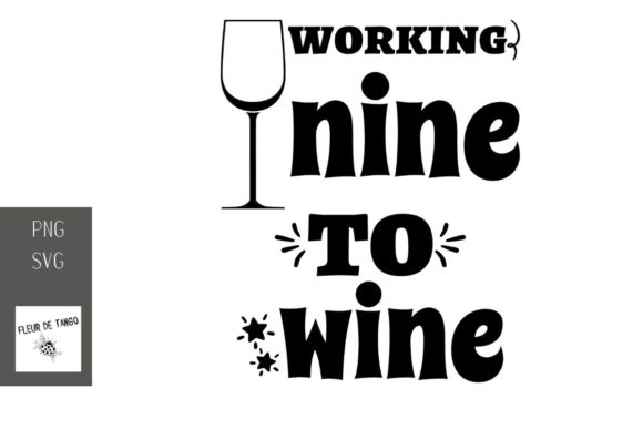 Print on Demand: Working Nine to Wine 2 Graphic Illustrations By Fleur de Tango