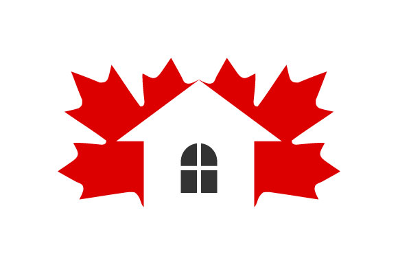 Download Free Canada Maple Leaf Home Vector Graphic By Hartgraphic Creative for Cricut Explore, Silhouette and other cutting machines.