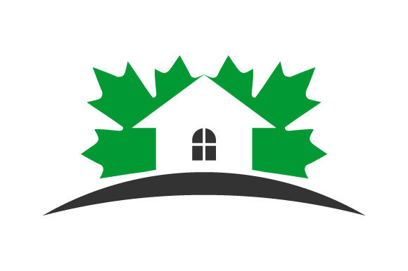Download Free Canada Maple Leaf Real Estate Vector Graphic By Hartgraphic for Cricut Explore, Silhouette and other cutting machines.