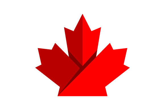 Download Free Canada Maple Leaf Vector Graphic By Hartgraphic Creative Fabrica for Cricut Explore, Silhouette and other cutting machines.