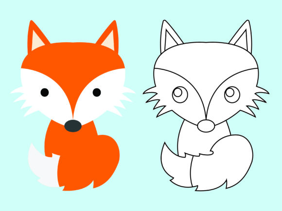 Download Free Cute Tiger Kids Coloring Vector Graphic By 1tokosepatu Creative Fabrica for Cricut Explore, Silhouette and other cutting machines.