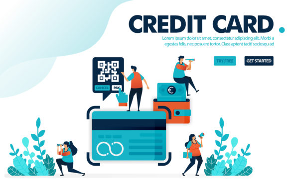 Download Free Illustration Concept Of Credit Card Graphic By Setiawanarief111 for Cricut Explore, Silhouette and other cutting machines.