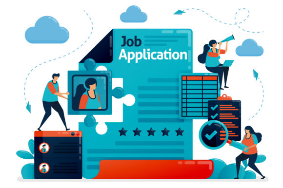 Download Free Application For New Employees Graphic By Setiawanarief111 for Cricut Explore, Silhouette and other cutting machines.