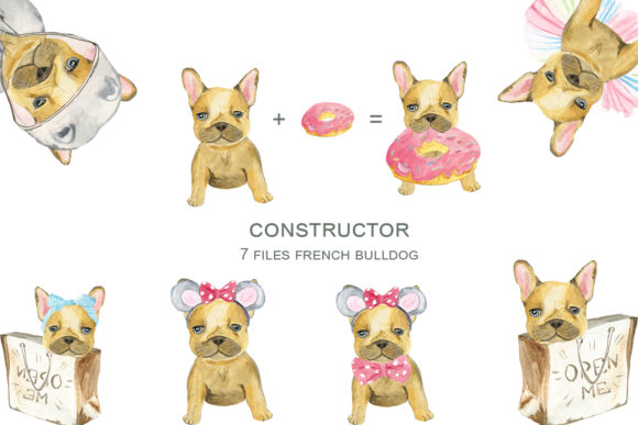 Download Free Dogs Constructor Graphic By Laffresco04 Creative Fabrica for Cricut Explore, Silhouette and other cutting machines.