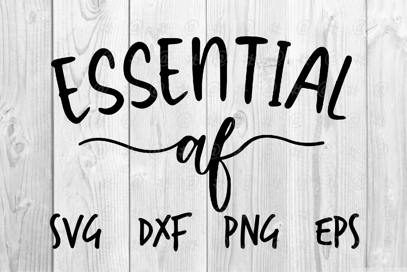 Download Free Essential Af Graphic By Spoonyprint Creative Fabrica for Cricut Explore, Silhouette and other cutting machines.