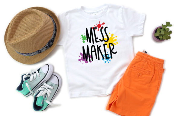 Print on Demand: Funny Kids - Mess Maker Graphic Crafts By Simply Cut Co
