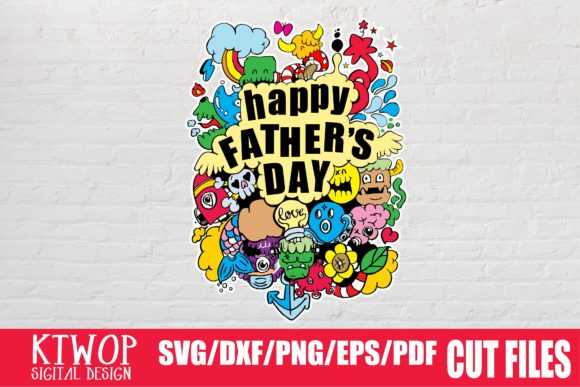 Download Free Happy Father S Day Grafico Por Mr Pagman Creative Fabrica for Cricut Explore, Silhouette and other cutting machines.