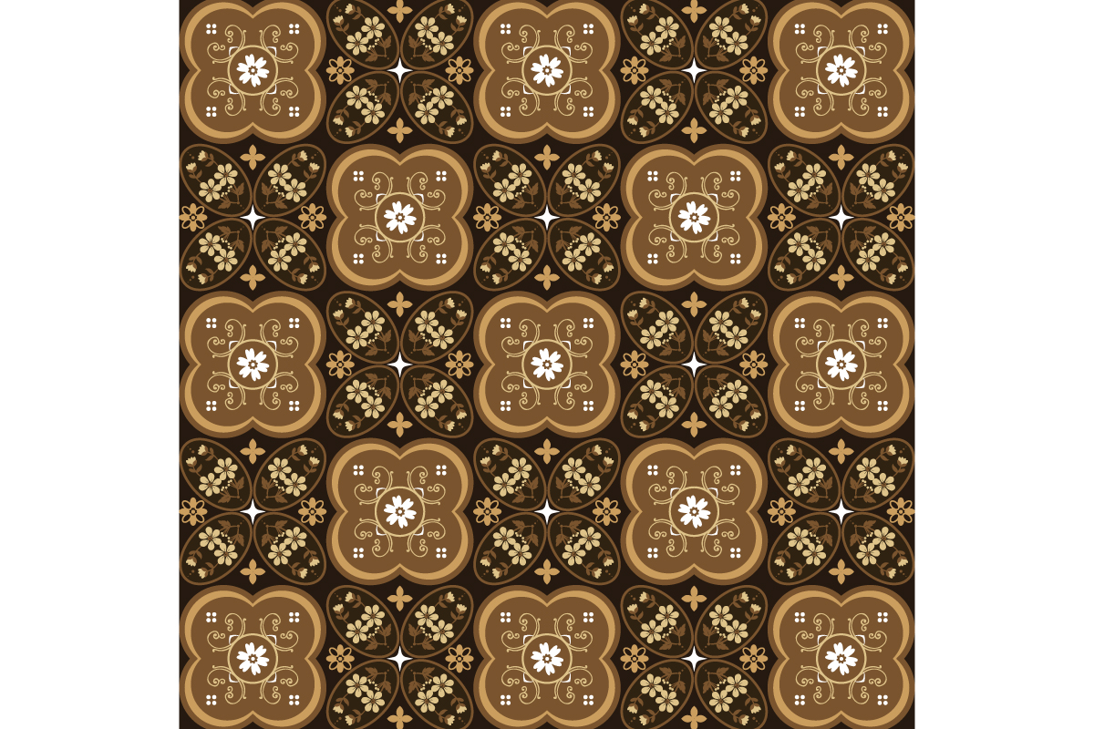 Download Free Kawung Batik Simple Graphic By Cityvector91 Creative Fabrica for Cricut Explore, Silhouette and other cutting machines.